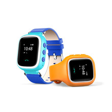 New Kid GPS Smart Watch Wristwatch SOS Call Location Finder Locator Device Tracker for Kid Safe Anti Lost Monitor Baby Gift Q60