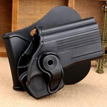 Al aire libre Táctico Negro Diestro Holster Pistola Pistolera Bolsa de la Caja de Protección para 24/7 Taurus Taurus 24/7-Pistola de Caza de OSS