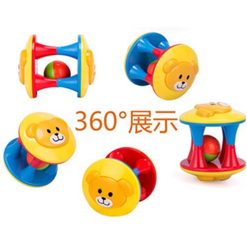 2016 Rabbed Baby Toy 3pcs Lovely Colorful Bell Ball Білімі - Балаларға арналған ойыншықтар - фото 4