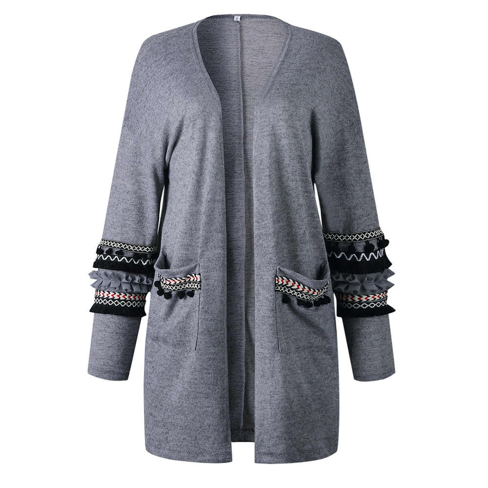Boho Casual Winter Plus Size Simple Vintage Sweaters Women Loose Thick Pink Elegant Gray Office Ladies Female Fashion Tops