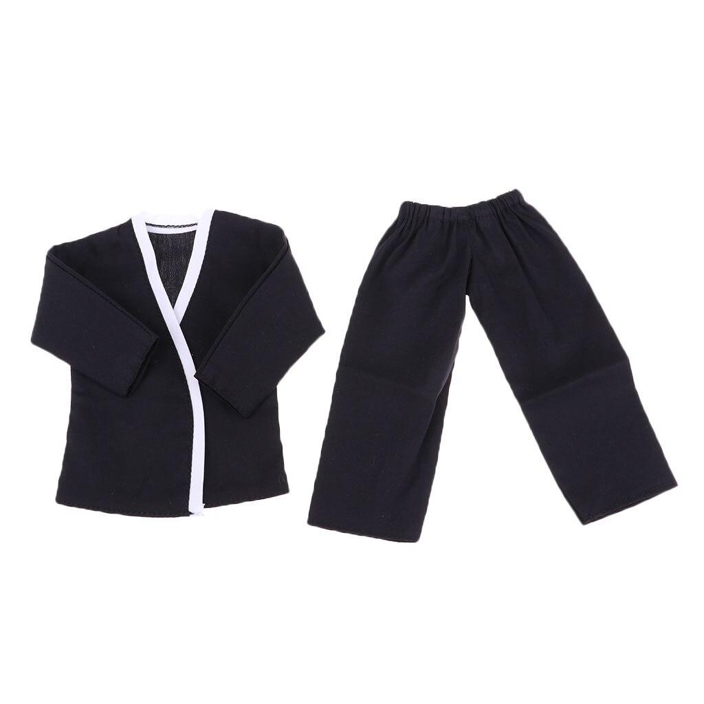 1:6 Scale Male Judo Suit Men Clothes for 12/'/' Phicen Action Figure Doll Toys