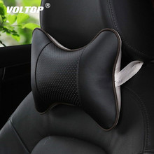 Car Neck Pillow for Neck  Safety Seat Car Accessories Interior Car Seat Headrest Neck Head Rest Memory Foam Support Cushion недорого
