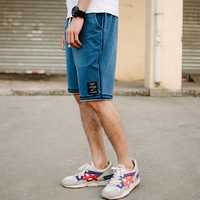 New fashion mens short jeans brand clothing summer movement board shorts Retro Leisure breathable denim shorts male 7970