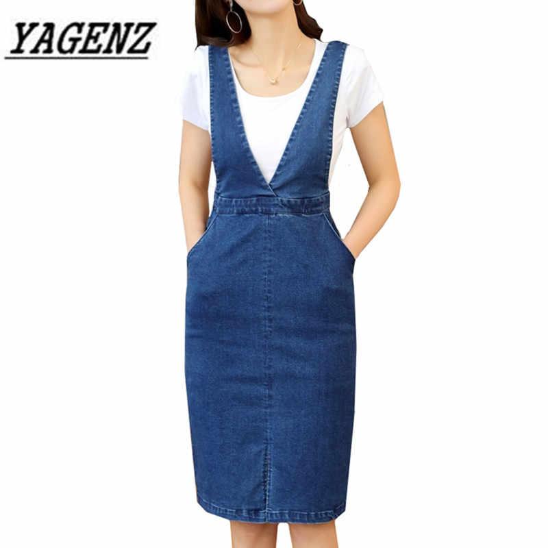 2018 летние новые женские джинсовые платья Модное изящное платье без рукавов сплошной Повседневный жилет с карманами джинсовое платье женская одежда