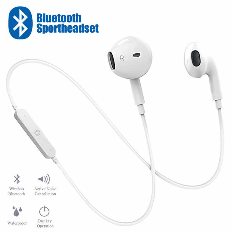 Sport Neckband Wireless Earphone Music Earbuds Headset Handsfree Bluetooth Earphone with Mic For All Phone For Huawei For Xiaomi