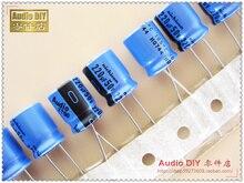 30 ШТ. Nichicon серии KT 220 мкФ/50 В 105 электролитический конденсатор для аудио бесплатная доставка