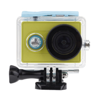 For Xiaomi Yi Xiaoyi Underwater 40M Diving Wateproof Case Protective Shell For Xiaomi Yi Action Camera