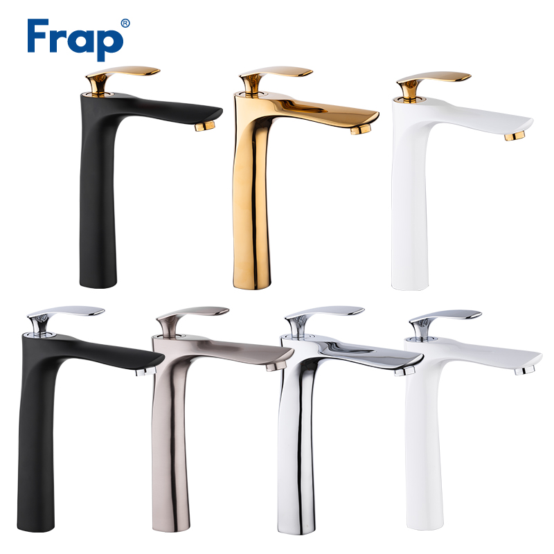 купить Frap New Sets Basin Faucet Torneira Bathroom Basin Tap Cold & Hot Water Mixer Faucets Waterfall Single Handle Bath Sink Taps по цене 3871.1 рублей