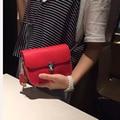 Cow Leather Mini Women Messenger Bags 2017 Good Quality Women Shoulder Bag  Ladies Small Clutches Chain Women Crossbody Bags 5dcda4006767