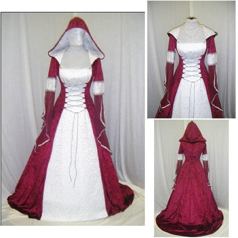 En vente R-268 victorien gothique/guerre civile sud Belle robe de bal robe Halloween robes