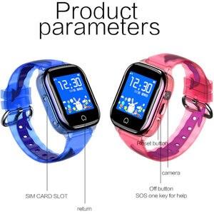 Image 4 - Greentiger GPS K21 스마트 워치 어린이 GPS LBS 위치 IP67 방수 SOS 카메라 알람 시계 아기 Smartwatch 어린이 VS Q50 Q90