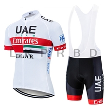 TEAM 2019 UAE CYCLING JERSEY 9D  bike shorts set Ropa Ciclismo MENS summer quick dry pro BICYCLING Maillot pants clothing GEL цена и фото