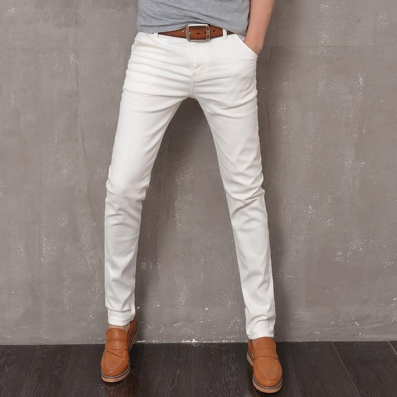 Вобтягивающих белых штанах фото 645-783