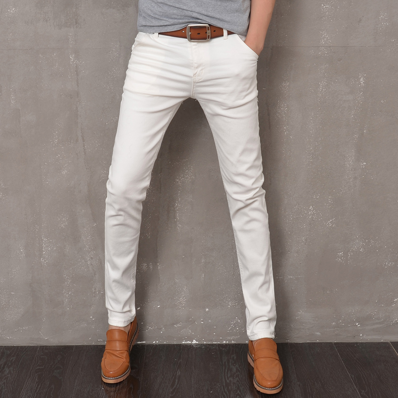 Popular White Skinny Jeans-Buy Cheap White Skinny Jeans lots from ...