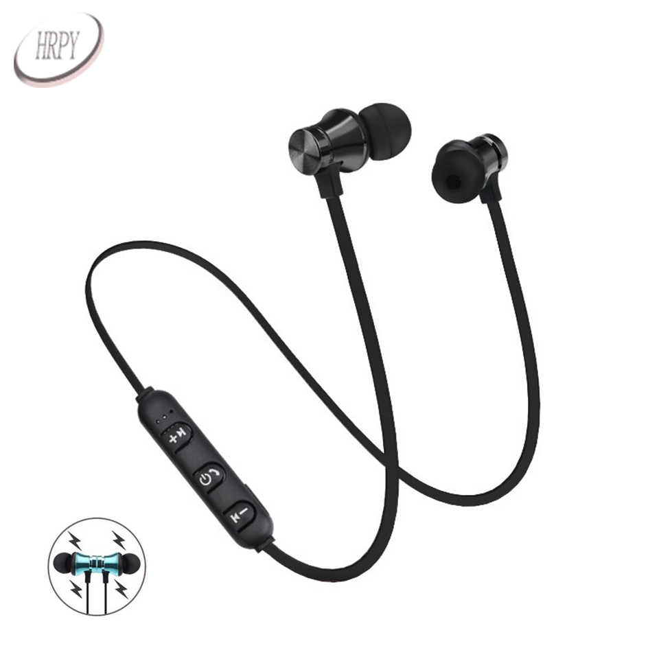 4c6a5786e7b Wireless Bluetooth Earphones Sport In Ear Headsets Magnetic Stereo  Headphones With Microphone For PC Mobile Android