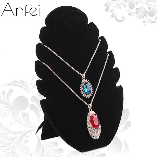 Fire Shape Necklace Display Board Jewelry Display Board Black Velvet