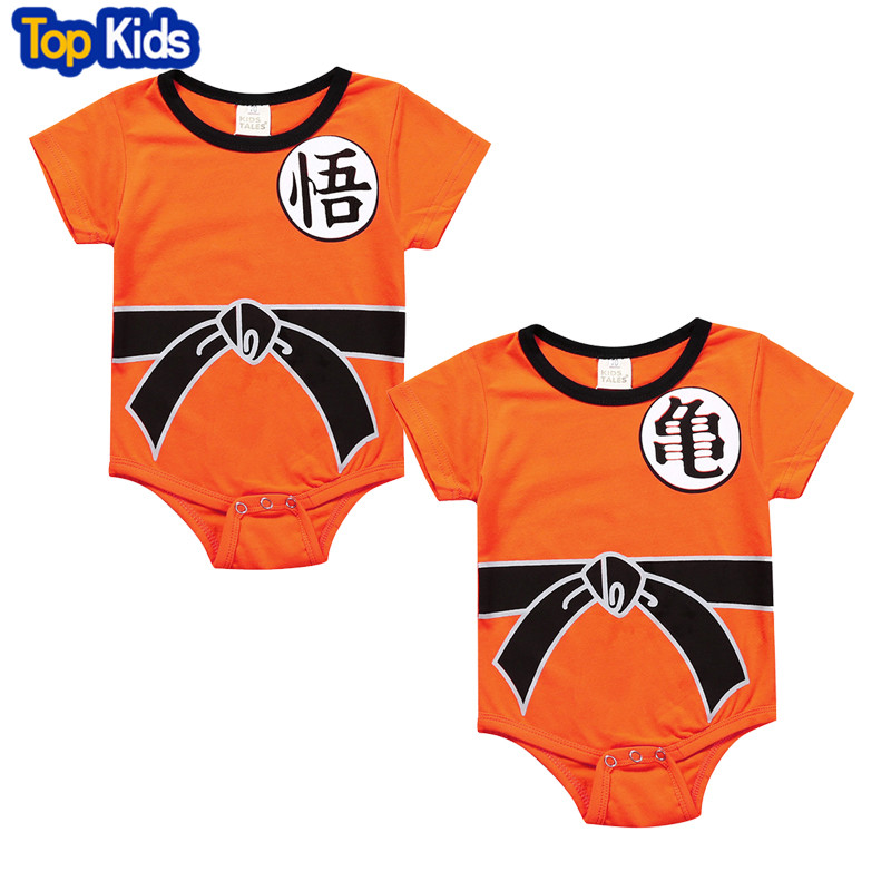 Dragon Ball Baby Rompers Newborn Baby Boys Clothes SON ...