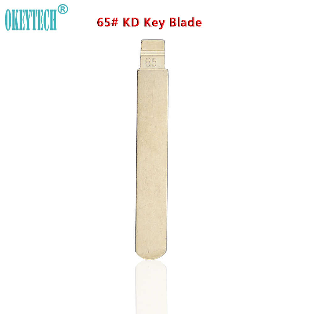 OkeyTech 5PCS/LOT Good Quality Replacement Metal Blank Uncut Flip KD Remote Key Blade Type #65 for Subaru