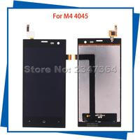For M4 SS4045 S4045 4045 LCD Display Touch Screen Black Color 100 Tested Mobile Phone LCDs