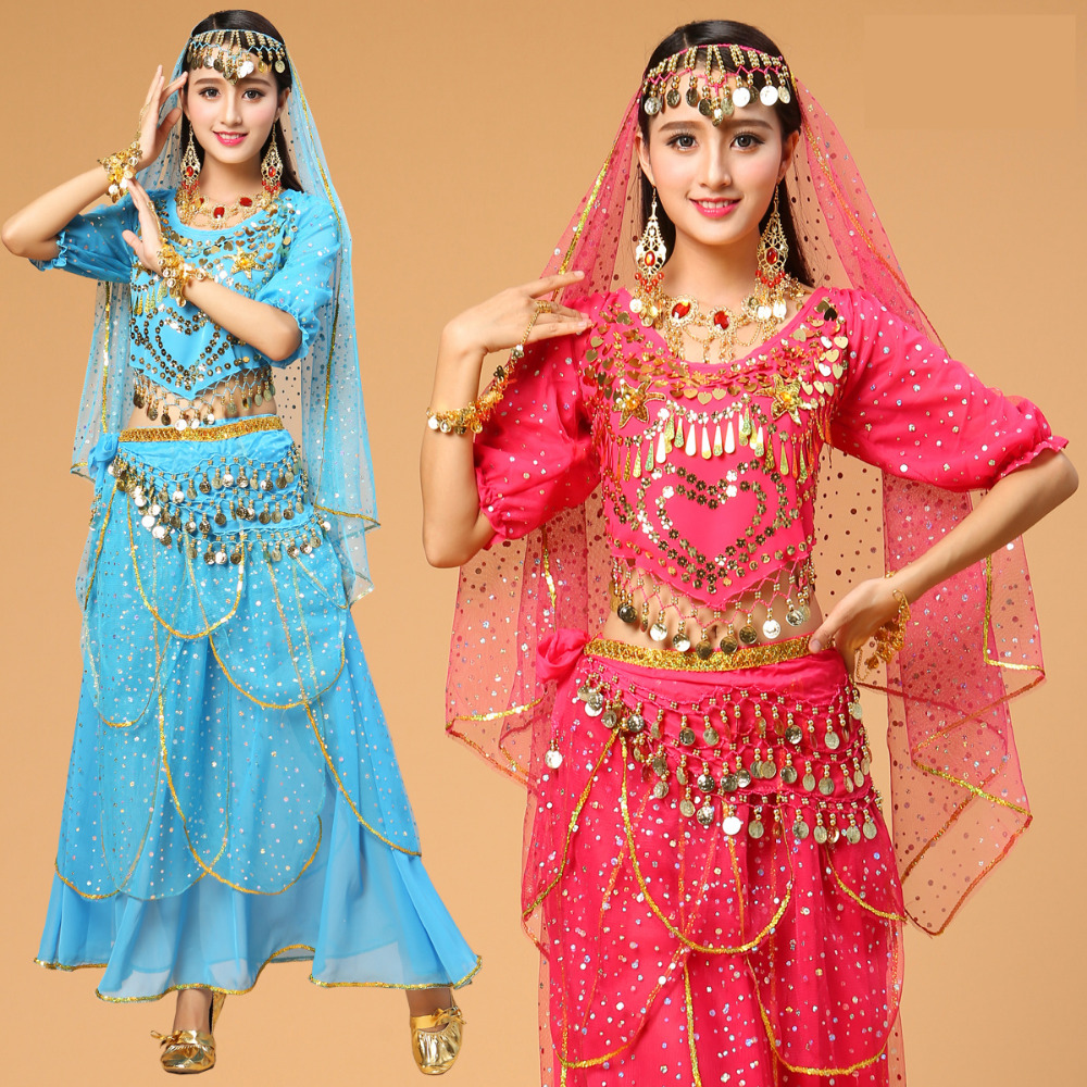 New Plus Size Belly Dancing Costumes Female Indian Dance -2125