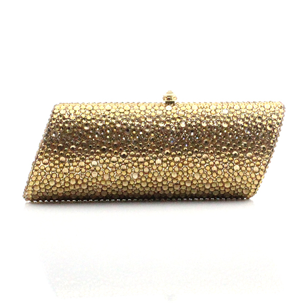 Aliexpress.com : Buy Elegant Gold Crystal Ladies Clutches ...