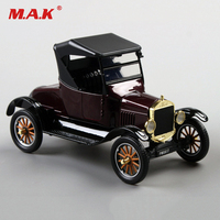 Collectible Lack 1925 Ford T type Retro Ford Classic Vintage Vehicle Car 1/24 Alloy Diecast Car Model Toys for Children Kid Gift
