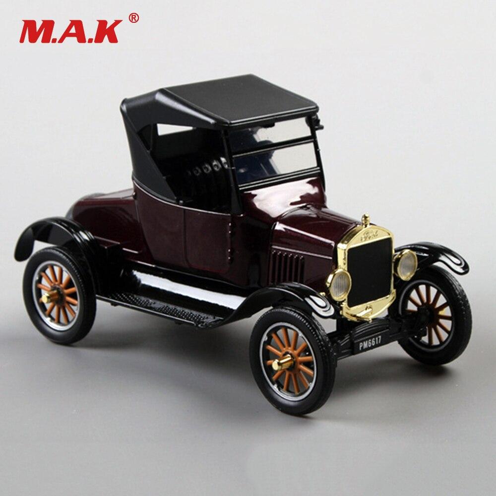 Collection Manque 1925 Ford T-type Rétro Ford Classique Vintage Véhicule voiture 1/24 Alliage Moulé Sous Pression Modèle De Voiture Jouets pour Enfants Kid cadeau