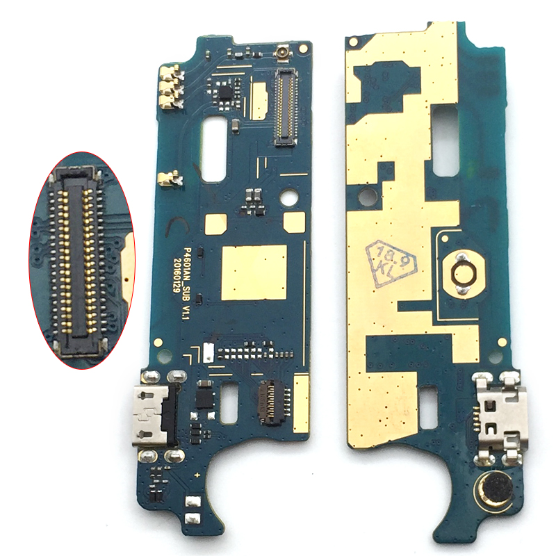 Dock Port Connector Charging Board For Wiko U Feel Lite USB Charging Charge Plug Flex Cable 1Pcs