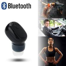 Mini Wireless Bluetooth 4.1 Stereo Headset In-Ear Earphone Earbuds Music Calling Phone Call running cycling, hiking, yoga 20(China)