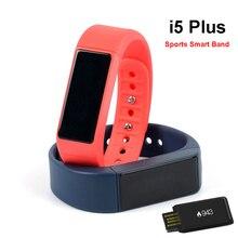Iwown I5 плюс Спорт Smart Band Водонепроницаемый IP67 SmartBand Bluetooth браслет для iPhone IOS телефона Android шагомер браслет