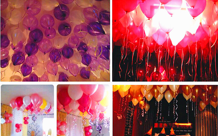 100pcsLot 12g Pearl Light Wedding Balloons Birthday Party