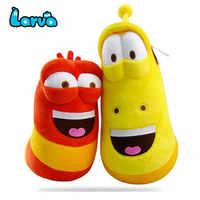 Echte Big Size Lustige Larve Suffed Cartoon spielzeug Weichen Spaß Bug Plüsch Spielzeug Figuren Stress Relief für Kinder 15/ 18/24 zoll