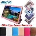 Étui pour Irbis TZ960/TZ961/TZ962/TZ963/TZ965/TZ969 9.6 pouces Tablette Housse En Cuir PU + gratuit 2 pièces Protecteur D'écran