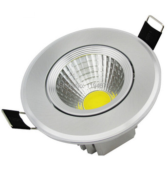 Free shipping 10W COB led downlight Down light lamp 880LM recessed 85~265V Brand quality assurance CE RoHS warranty 2 years