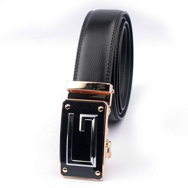 Belt 2016 Hot Moda Couro Cinto De Couro Dos Homens Designer de Luxo de Alta qualidade Homens Blets Cintos de Fivela Automática Negócio de Sucesso