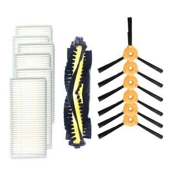 Replacement Accessory Kit Filter Main Brush Side For ECOVACS CR120