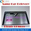Первоначально Brandnew A1418 ЖК-Экран с Передней Стекла для Imac 21.5 дюймов MF883 MD093 MD094 ME086 ME086