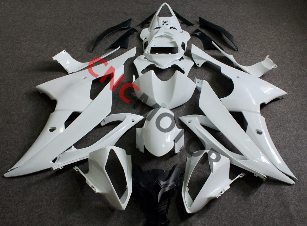 Unpainted ABS Plastic Injection Mold Fairing Kit Body Kit For Yamaha YZF R6 2008 2016 08 09 10 11 12 13 14 15 16