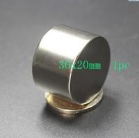 1pcs Dia Magnet 30x20 Mm Bulk Round NdFeB Neodymium Disc Magnets N35 Super Powerful Strong Rare