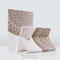 3D Relief Painting Stereo Feeling Leather Tablet Case For IPad Pro 10 5inch Folio With Smart