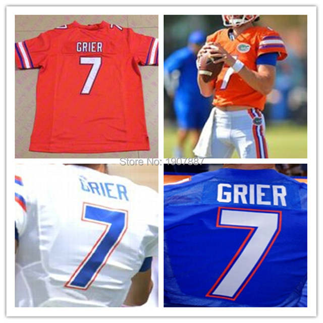 new concept cf13f a3a4a Mens Kids youth Women 2015 new Florida Gators # 7 Will Grier ...