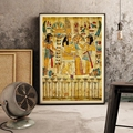Ретро Египетский пейзаж настенная картина для гостиной Религиозная Живопись холст художественный плакат и печать украшение дома без рамки