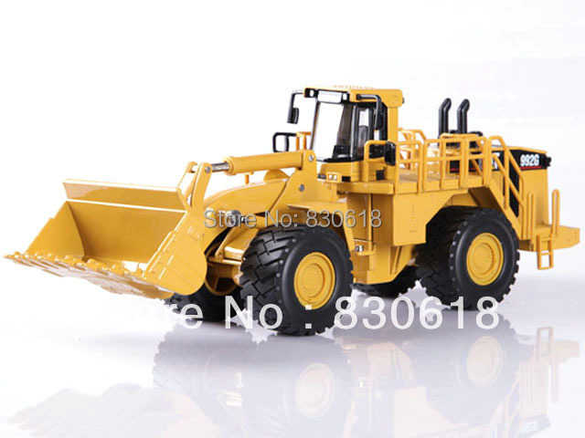 norscot Caterpillar CAT 992G WHEEL LOADER 1/50 scale DieCast Construction vehicles toy 55115 norscot 1 50 scale diecast new cat 320d l hydraulic excavator 55214 construction vehicles toy gift for boy