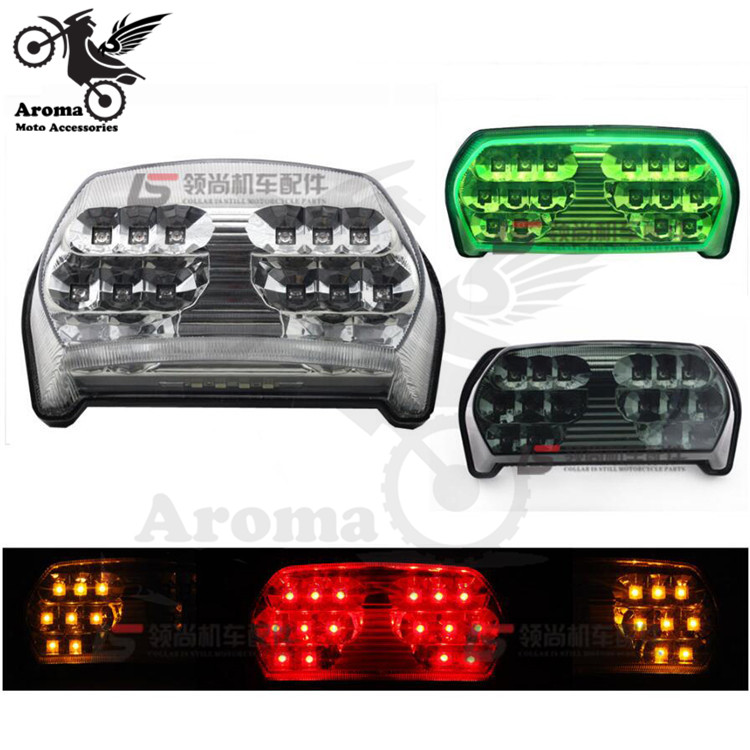 1996 1997 1998 1999 2000 2001 2002 2003 year brand scooter LED motorcycle tail light for KAWASAKI ZX7R moto warning signal light