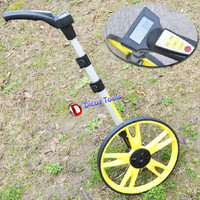 Mechanical Wheel Rangefinder Push Wear Resistant Ranging Wheel Measuring Tool