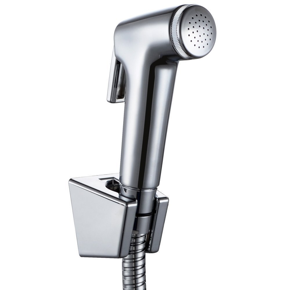 Toilet Hand Held Bidet Shattaf Cloth Diaper Sprayer with 1.2m Hose ...