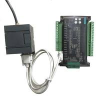 Ethernet module + FX3U series PLC industrial control board with DB9 Communication line