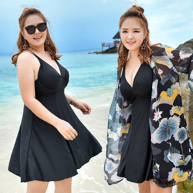 Verzy Wowen Large Size One Piece Swimsuit Blouse 2017 Sexy One Pieces Bathing Suit Beach Cover Up Summer Swimsuit Floral Print