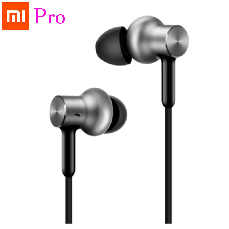 Original Xiaomi Hybrid Quantie Pro Earphone In Ear Piston Headphone Headset Mic with Multi Unit Circle Iron Mixed for Phone/MP3 original xiaomi mi hybrid earphones mi in ear headphones pro piston headphone mic circle iron for phone music player