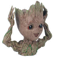 Baby Groot Flowerpot Planter Action Figures Guardians Of The Galaxy Toy Tree Man Cute Model Toy Pen Pot Dropshipping